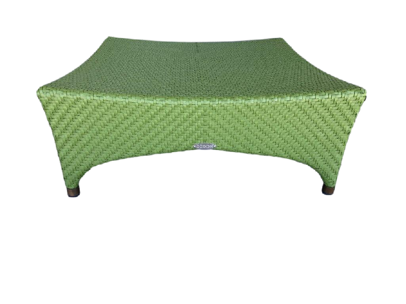 Marrakesh Footstool Green
