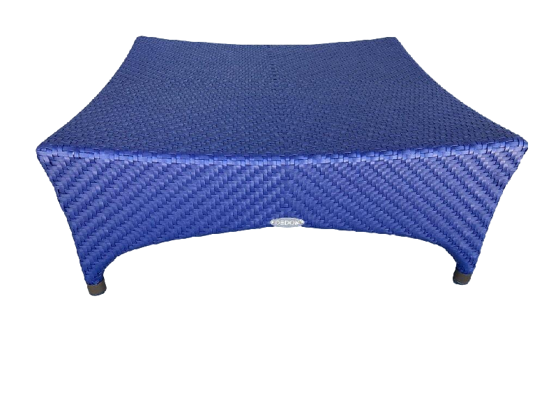 Marrakesh Footstool Blue