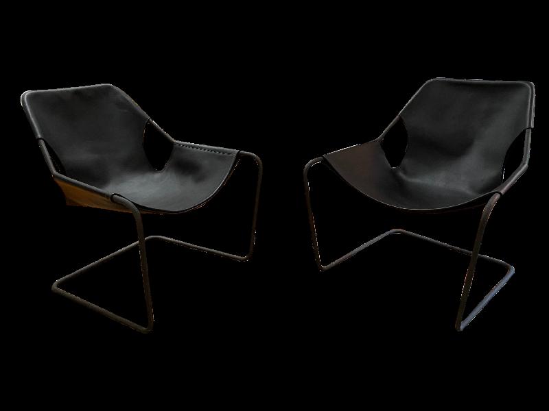 Pair of Paulistano Armchairs in Black