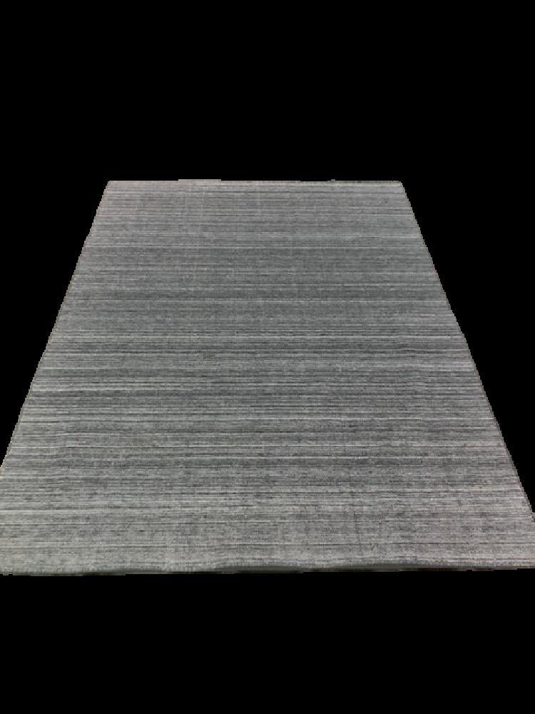 Grey Striped Rug