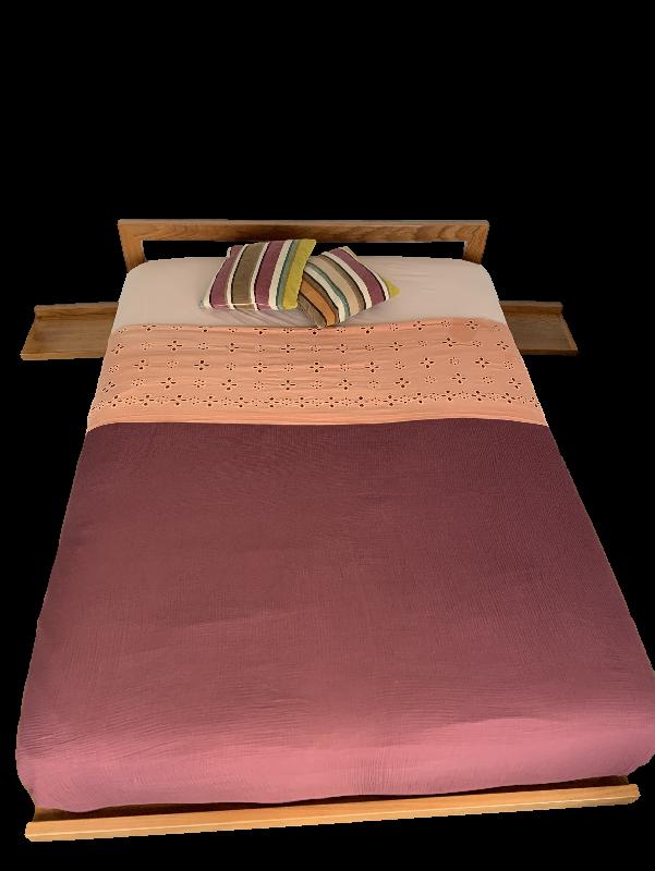 Queen Size Timber Platform Bed Frame