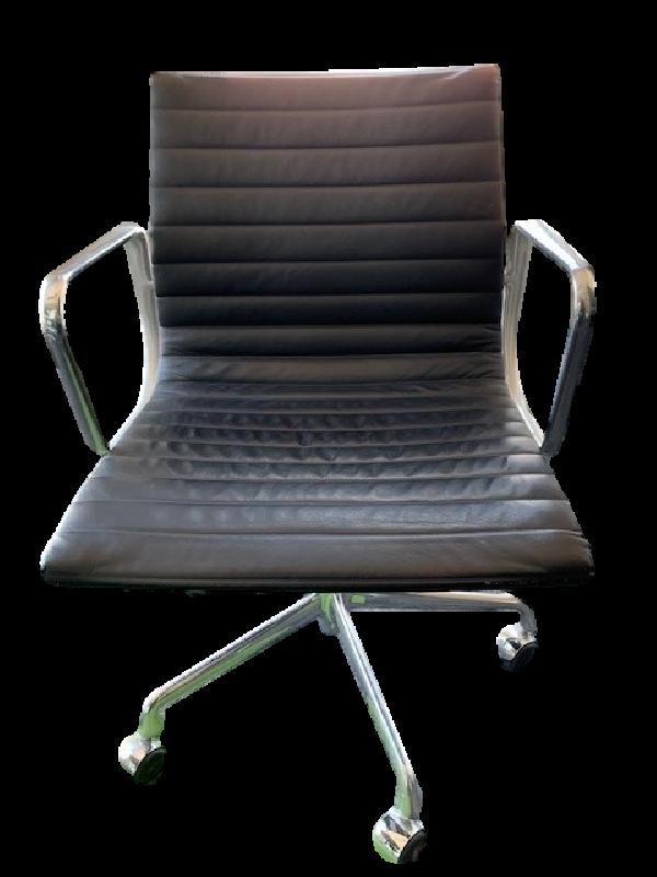 Aluminium Group Management Chair Black