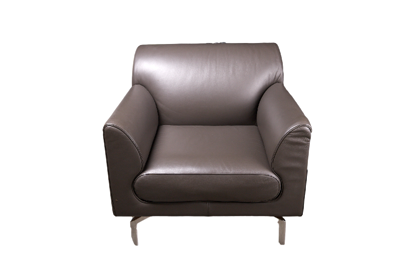 Modern Italian Leather Armchair