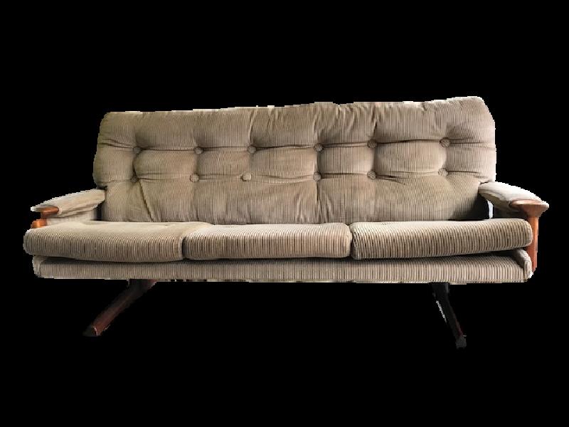 Vintage 3 Seater Sofa Fred Lowen Design