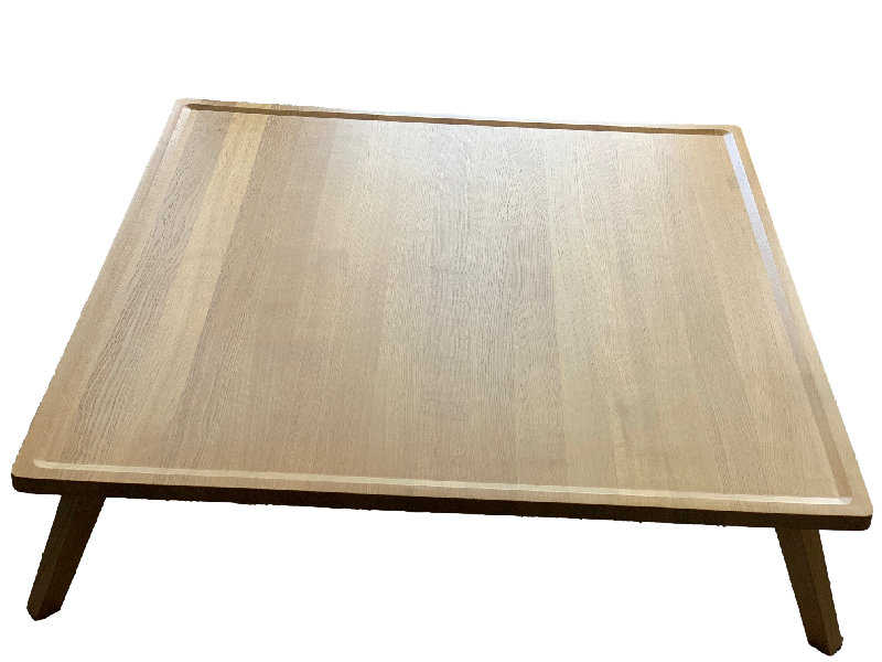 Gray 55 Square Coffee table