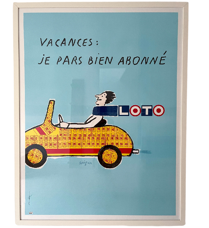 Vintage Poster French Lotto