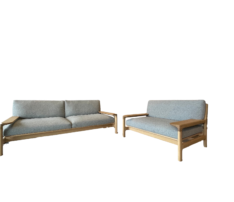Yukar 2 Seater Sofa and Armchair